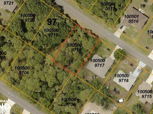 Nice Lot in North Port : North Port : Sarasota County : Florida