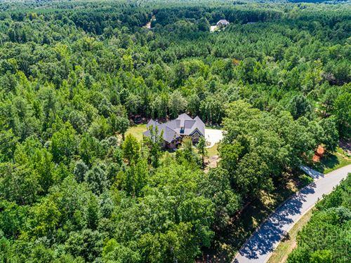 Customized Estate Home, Upgrades : Oxford : Walton County : Georgia