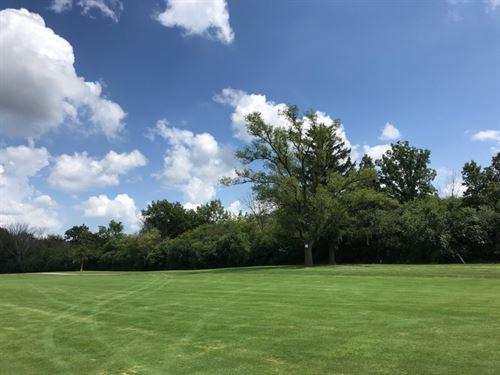 Quarter Acre, On A Golf Course : Crete : Will County : Illinois