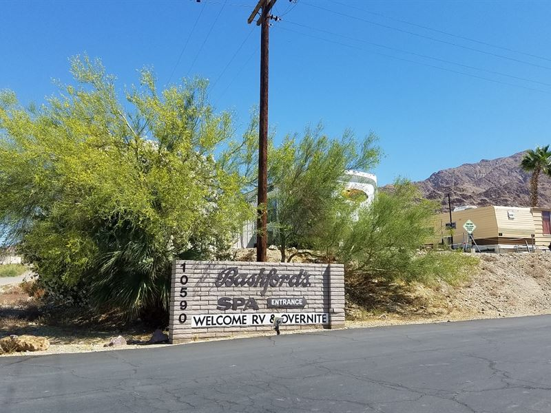 Nice, Mineral Spa Area, $277/Mo : Niland : Imperial County : California