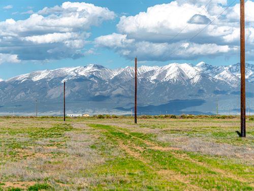 Lot With Electric & Mountain Views : Alamosa : Colorado