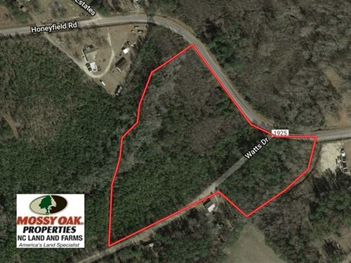 11 Acres of Residential And Huntin : Whiteville : Columbus County : North Carolina