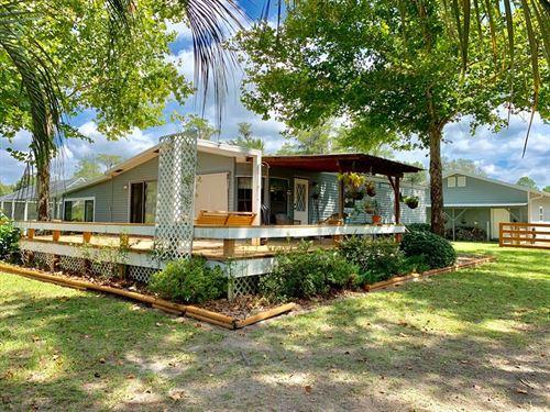 Lake Front Home Pool, Trenton : Trenton : Gilchrist County : Florida