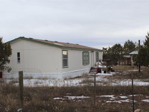 Ashfork Country Home & Horse : Ash Fork : Coconino County : Arizona