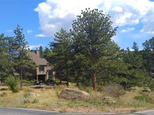 Level Building Lot Golf Community : Red Feather Lakes : Larimer County : Colorado