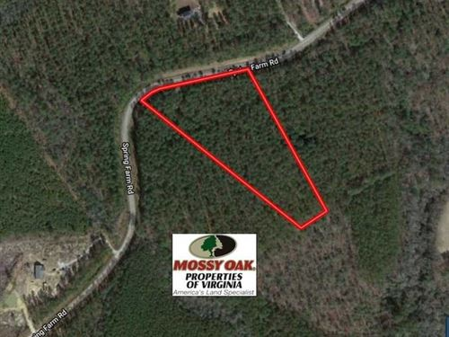 6 Acres of Hunting And Residential : Dendron : Surry County : Virginia