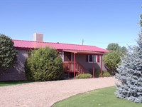 Country Home With Shop Edgewood NM : Edgewood : Torrance County : New Mexico