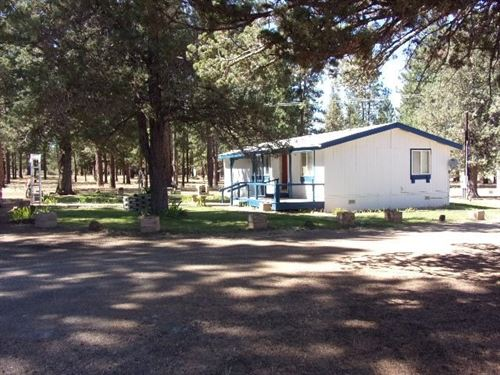 3/Bed 2/Bath Mfh Home 4.3+ Acres : Alturas : Modoc County : California