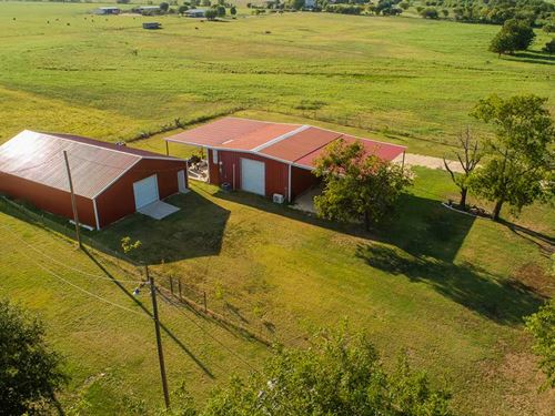 Well Kept 10 Acre Ranchette : Walnut Springs : Bosque County : Texas