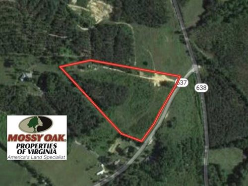 Under Contract, 8 Acres of Hunti : Nathalie : Halifax County : Virginia