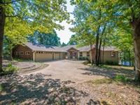 Waterfront Home Private Lake : Winnsboro : Wood County : Texas