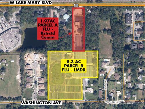 Lake Mary Redevelopment Opportunity : Lake Mary : Seminole County : Florida
