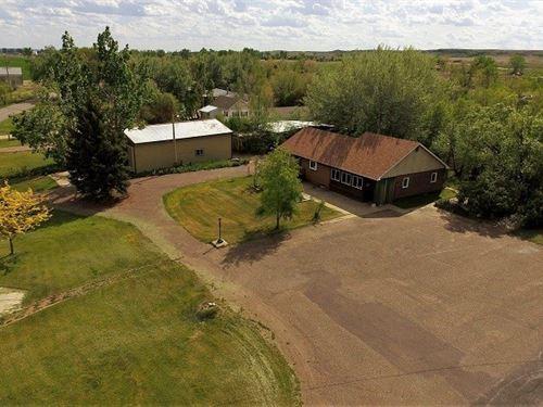 Home Acreage Shop Glendive, MT : Glendive : Dawson County : Montana