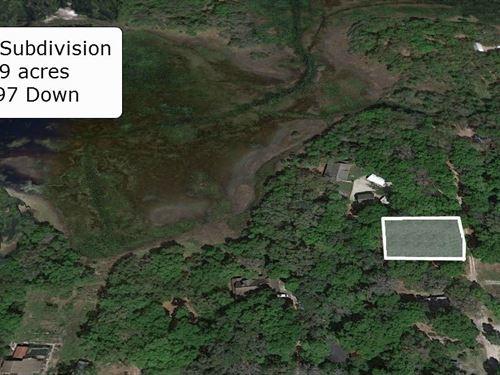 .39 Acre Lot Near Fort Cooper Park : Inverness : Citrus County : Florida