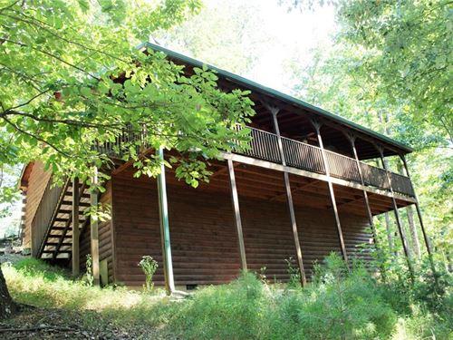 Mountain Cabin For Sale, Jasper, Ga : Jasper : Pickens County : Georgia
