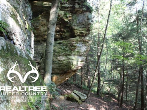 Unique Property In The Hocking Hill : Rockbridge : Hocking County : Ohio