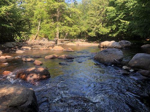 On Little Black Creek : Remsen : Oneida County : New York