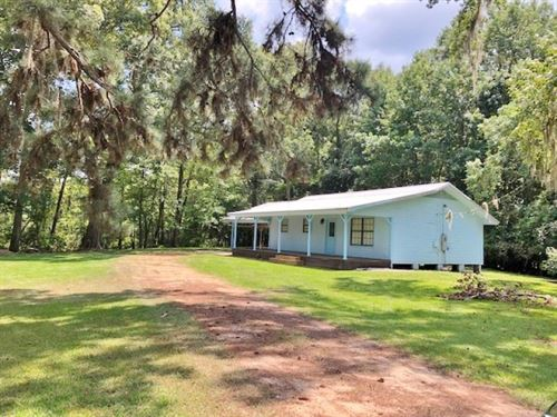 Cabin Adjoining Lake Elias : Columbia : Marion County : Mississippi
