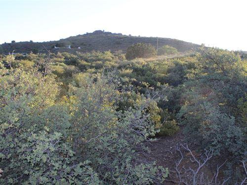 Mayor Hunting Land, Mountain Views : Mayer : Yavapai County : Arizona
