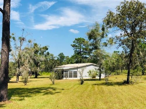 2/2 Mh On 5 Ac 778696 : Morriston : Levy County : Florida