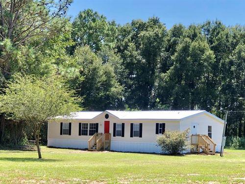 Country Home 4+ Acres O'brien : O'brien : Suwannee County : Florida