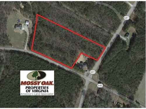 5+ Acres of Undeveloped Land : Sedley : Southampton County : Virginia