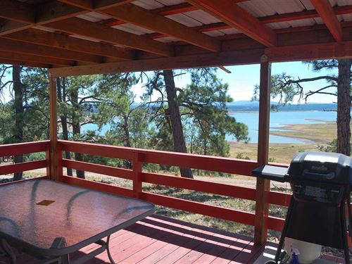 Home With Lake Views : Los Ojos : Rio Arriba County : New Mexico