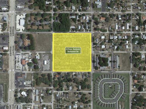 8.39 Acres Of Development Land : Avon Park : Highlands County : Florida