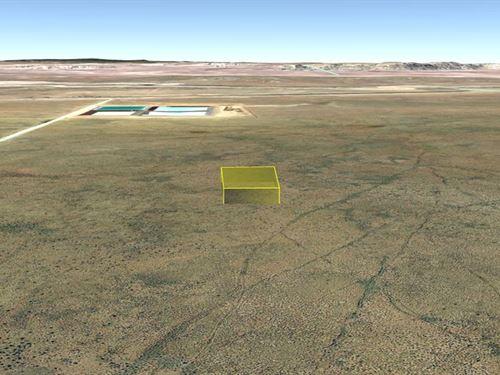 1.41 Acre To Build Your Dream Home : Holbrook : Navajo County : Arizona
