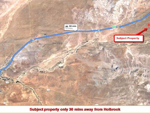 1.29 Acre From Forest National Park : Holbrook : Navajo County : Arizona