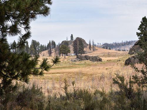 5 Sprawling Acres Among The Trees : Sprague River : Klamath County : Oregon
