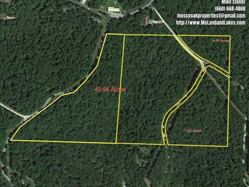 Nice 4.88 Acre Lot Close to Lake : Gravois Mills : Morgan County : Missouri
