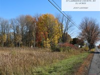 2.1 Acres In St, Lawrence County : Potsdam : Saint Lawrence County : New York