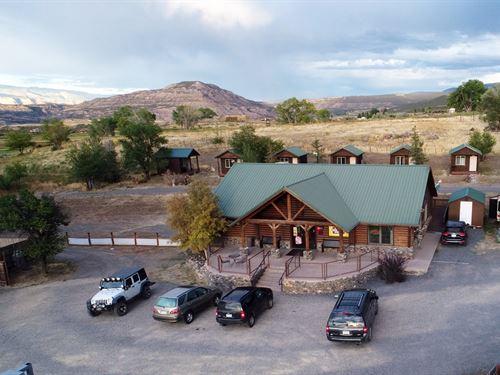 Investment RV Park, Convenience : Mesa : Colorado