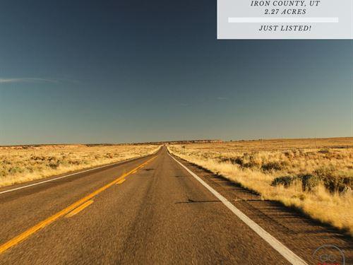 2.27 Acres In Iron County, Utah : Beryl : Iron County : Utah