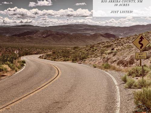 10 Acres In Rio Arriba County, NM : Tierra Amarilla : Rio Arriba County : New Mexico