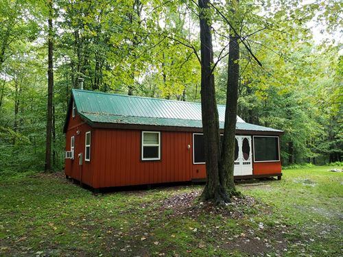 Finished Camp Close To Oneida Lake : Camden : Oneida County : New York
