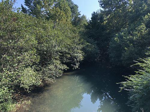 5.711+- Ac, Pearson Rd, Creek Front : Adairsville : Bartow County : Georgia