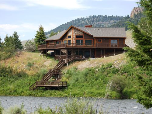 Madison River House : Cameron : Madison County : Montana