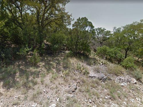 Hillside Lot Horseshoe Bay : Horseshoe Bay : Llano County : Texas
