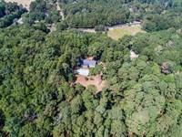 Ranch Home, Basement On 3+ Acres : Snellville : Gwinnett County : Georgia