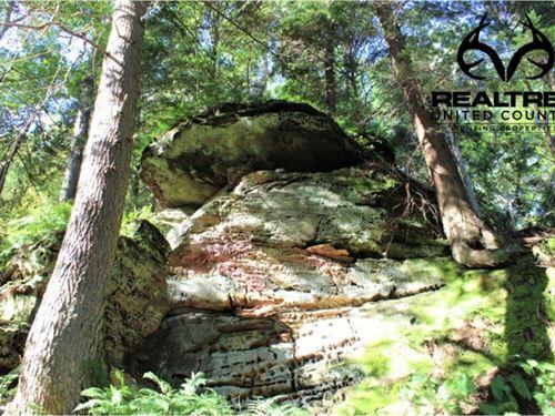 Hocking Hills Land For Sale : Rockbridge : Hocking County : Ohio