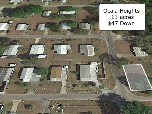 .11 Acre Corner And Cleared Lot : Ocala : Marion County : Florida