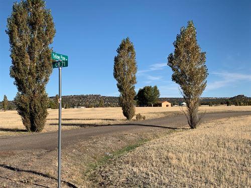 Cal Pines Lake Unit Lot For Sale : Alturas : Modoc County : California
