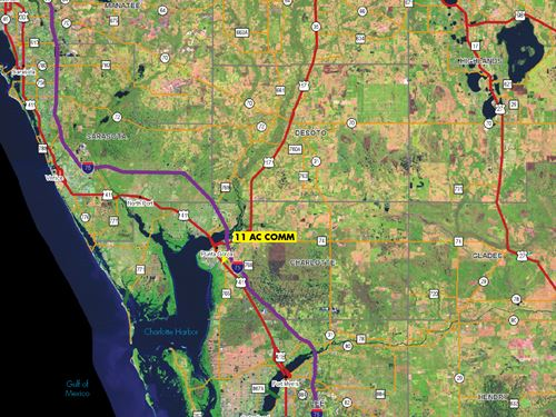 Us Hwy 41 & Canal Front Commercial : Punta Gorda : Charlotte County : Florida