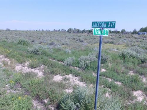 Vacant Corner Lot For Sale in Willa : Willard : Torrance County : New Mexico