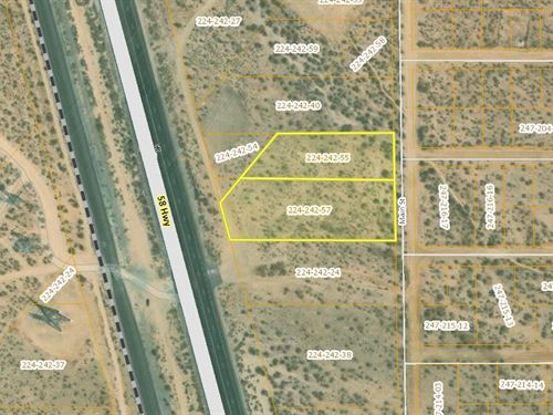 Hwy 58 Frontage, 2.54 Acres Mojave : Mojave : Kern County : California