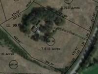 7.610 Acres Near Silver Comet Trail : Rockmart : Polk County : Georgia