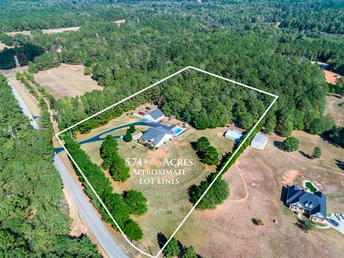Custom Ranch On 5+ Acres W/A Pool : Covington : Walton County : Georgia
