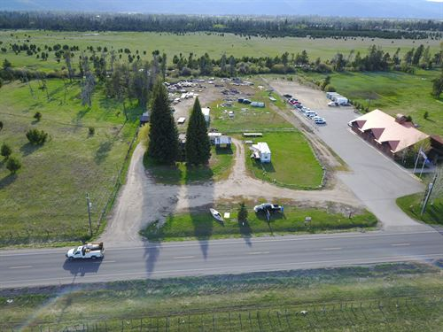 High Traffic Commercial Property : Donnelly : Valley County : Idaho
